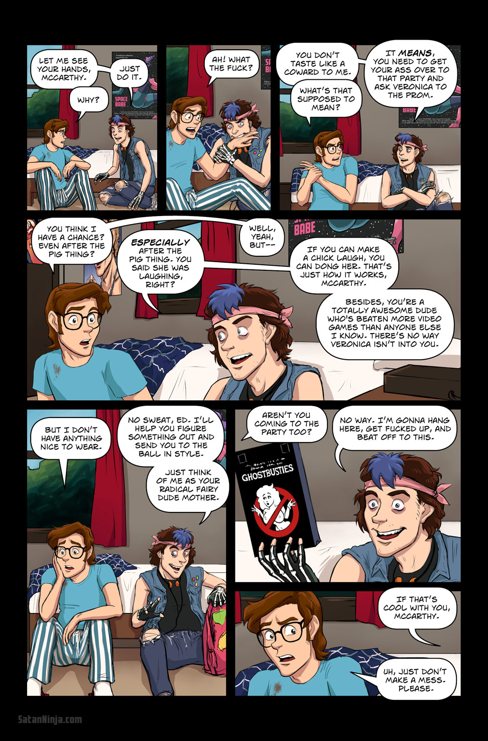 Issue 2, Page 18 - Ghostbusties
