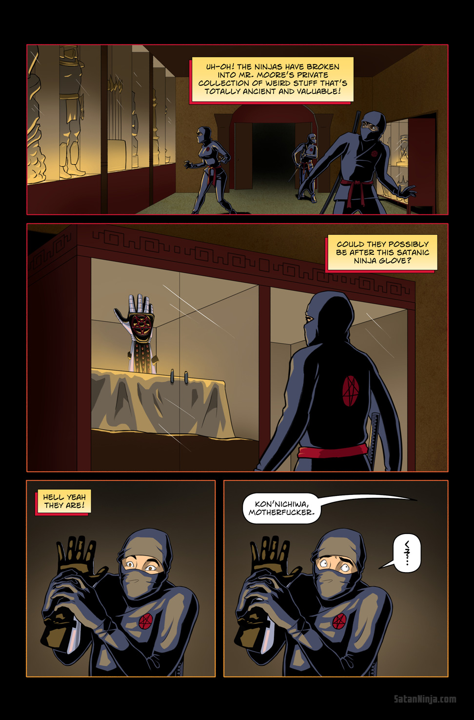 Issue 1, Page 16 - The Glove