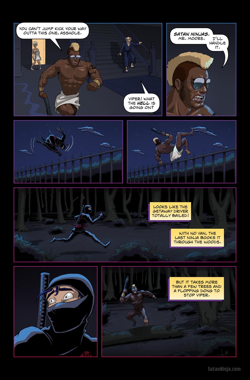 Issue 1, Page 19 - Ninja Flee
