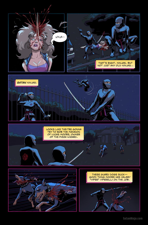 Issue 1, Page 14 - Satan Ninjas
