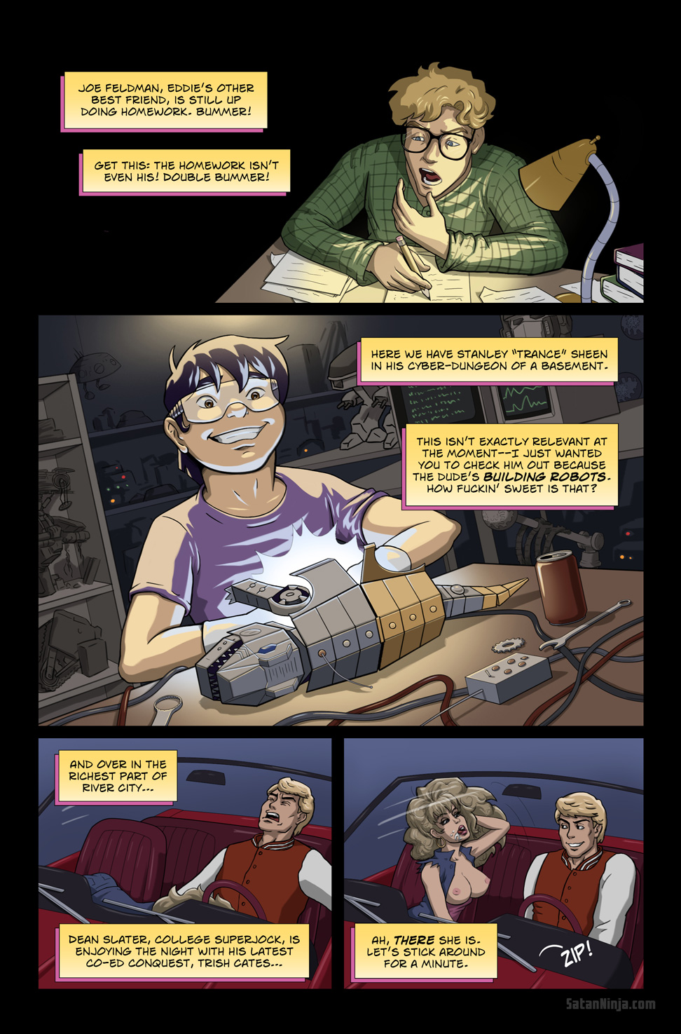 Issue 1, Page 11 - Joe & Trance