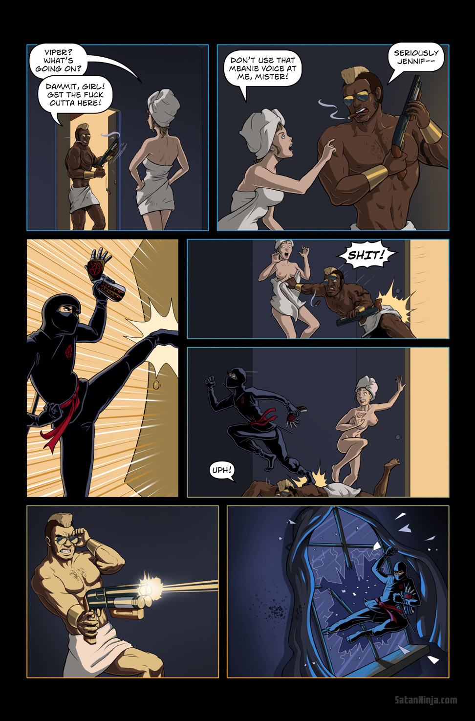 Issue 1, Page 18 - Jump Kick