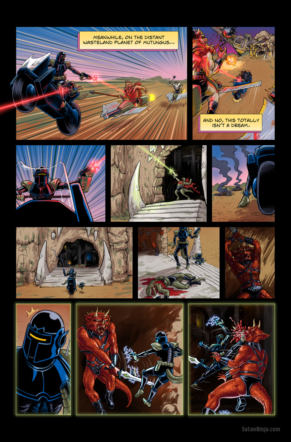 Issue 2, Page 4 - Space Bounty Hunters