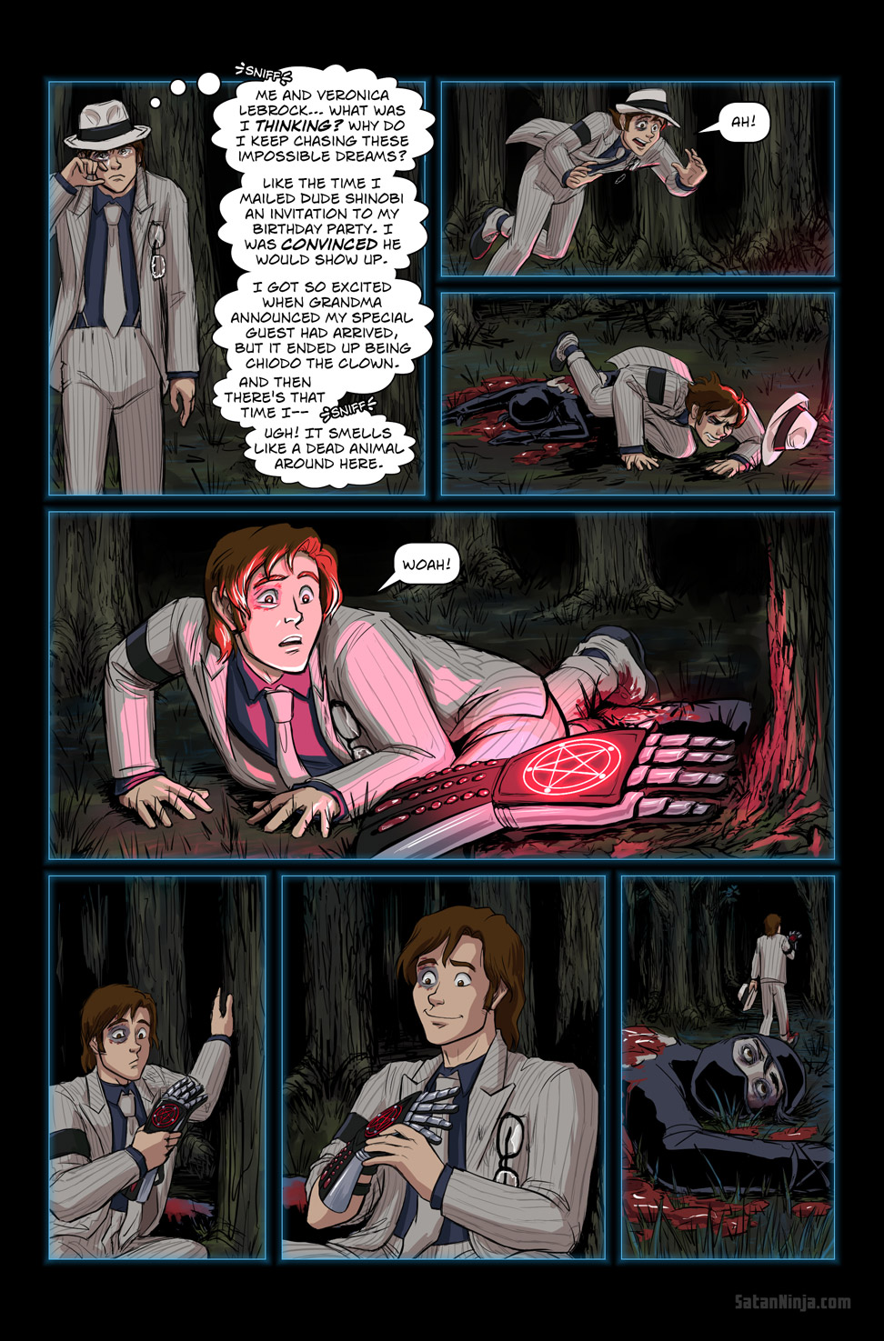Issue 2, Page 29 - Discovery in the Woods