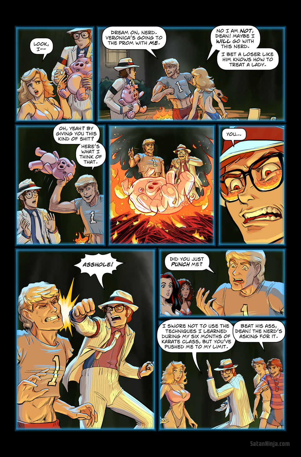 Issue 2, Page 25 - Party Heats Up