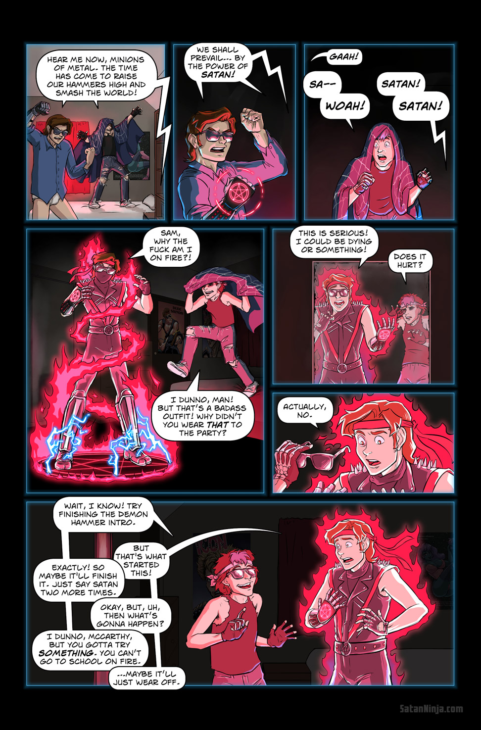 Issue 2, Page 32 - By the Power of Satan