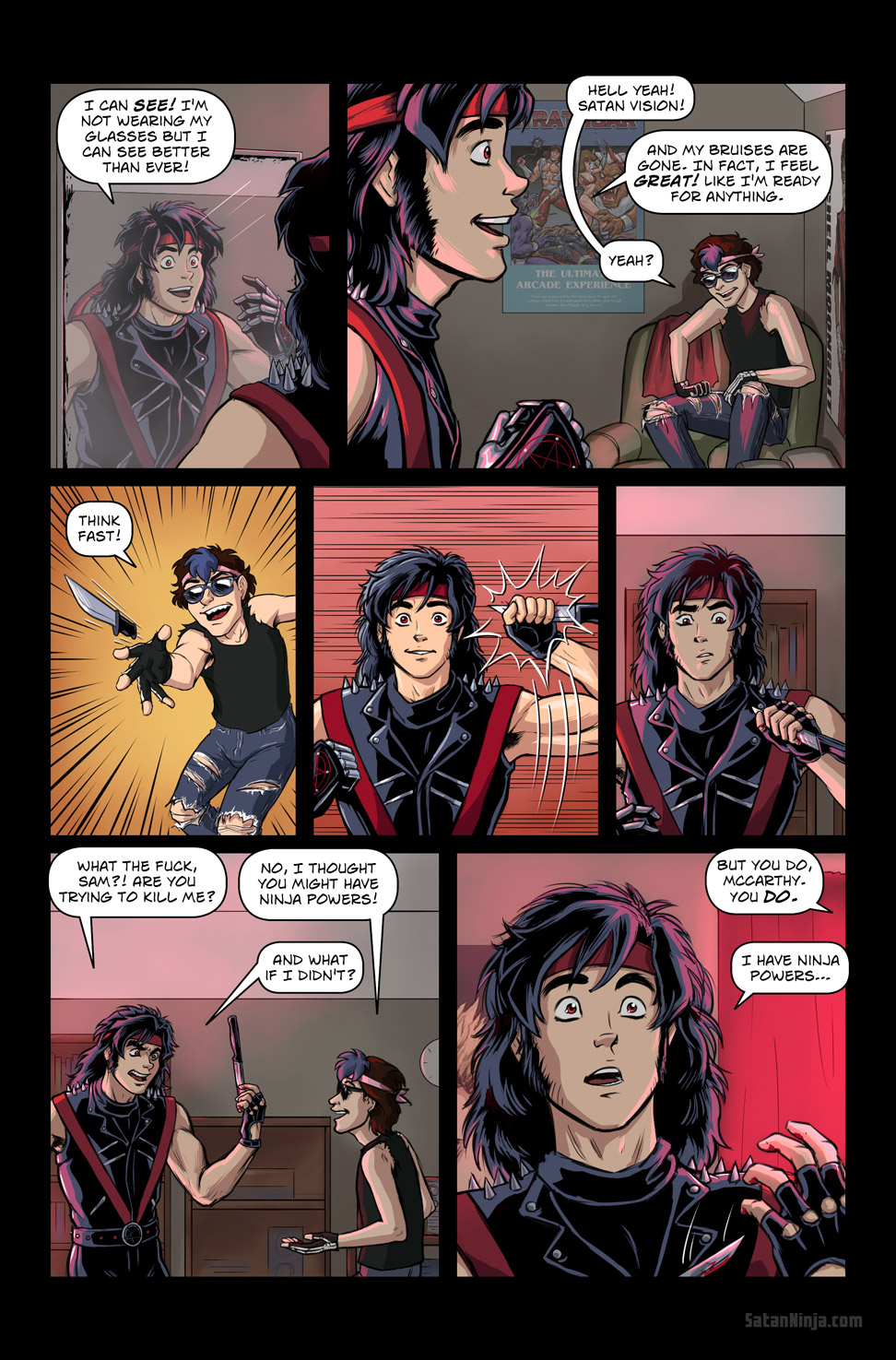 Issue 3, Page 1 - Think Fast