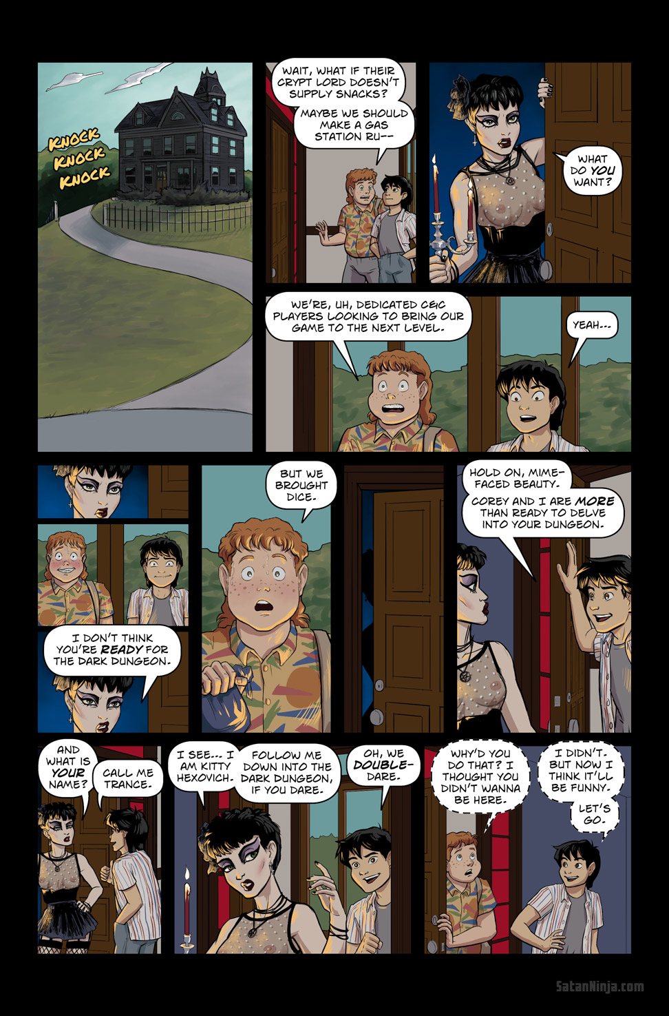 Issue 3, Page 11 - Dungeon Delving