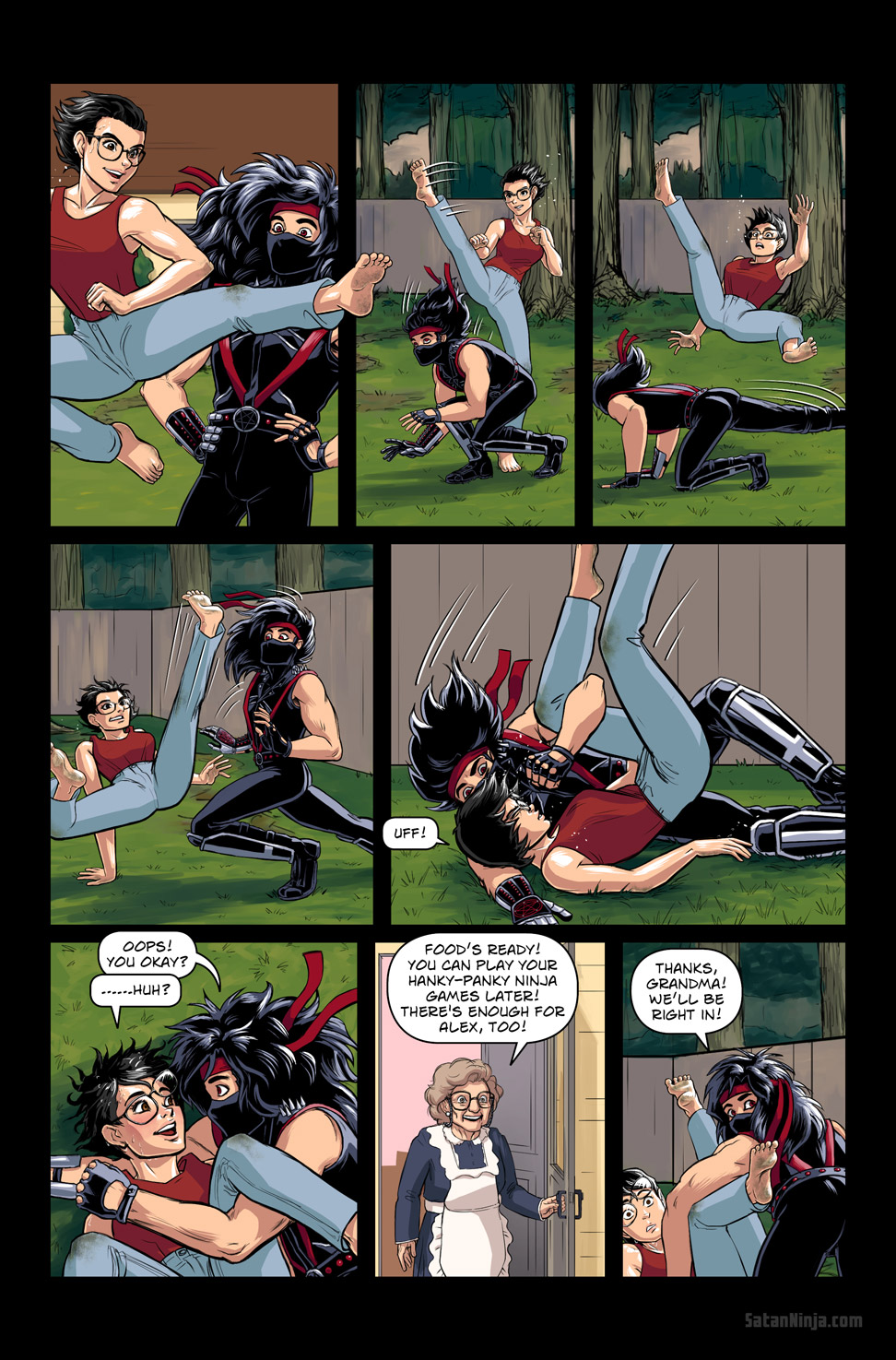 Issue 3, Page 12 - Eddie Vs. Alex