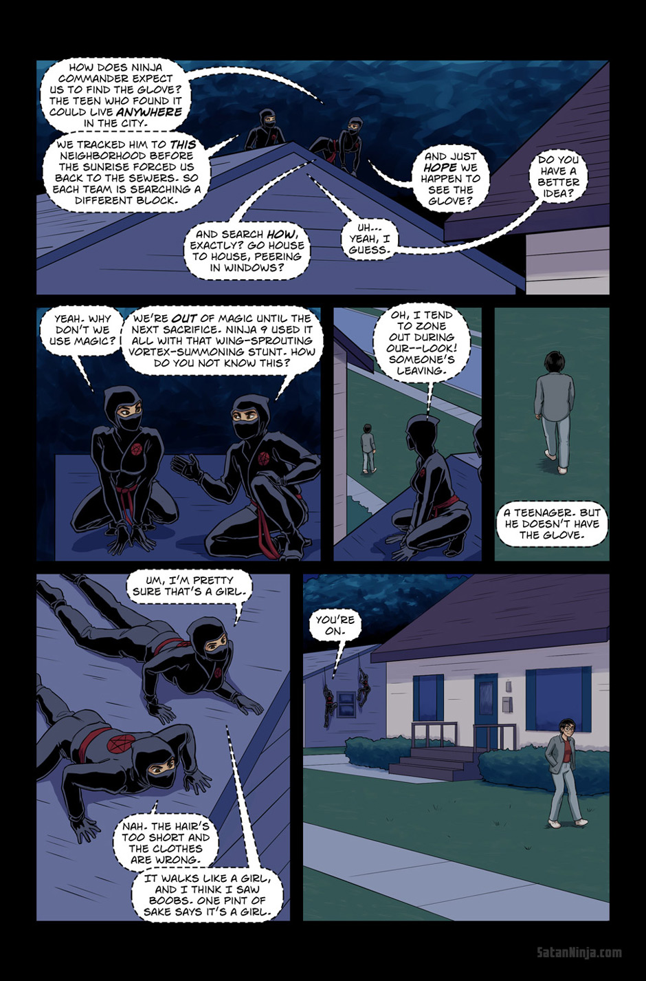 Issue 3, Page 23 - Ninja Whispers