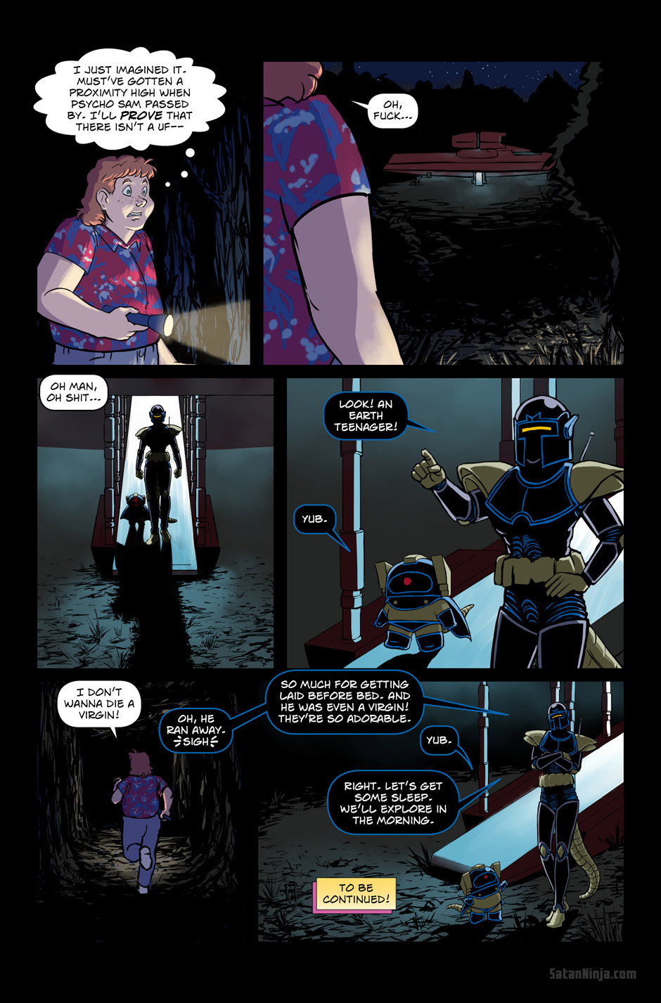 Issue 3, Page 38 - Aliens